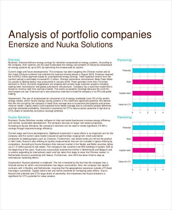 Company Analysis Template - 9+ Award Certificates - Free Sample