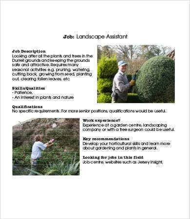landscaping assistant job description1