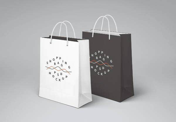 Smart Shopping Bag Mockup
