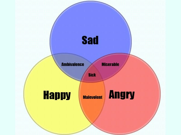 Venn Diagram on Feelings