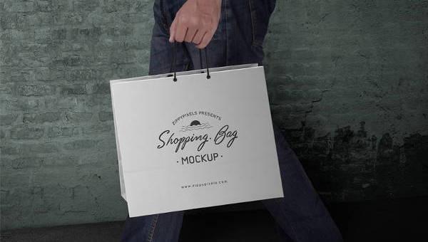 shoppingbagmockup