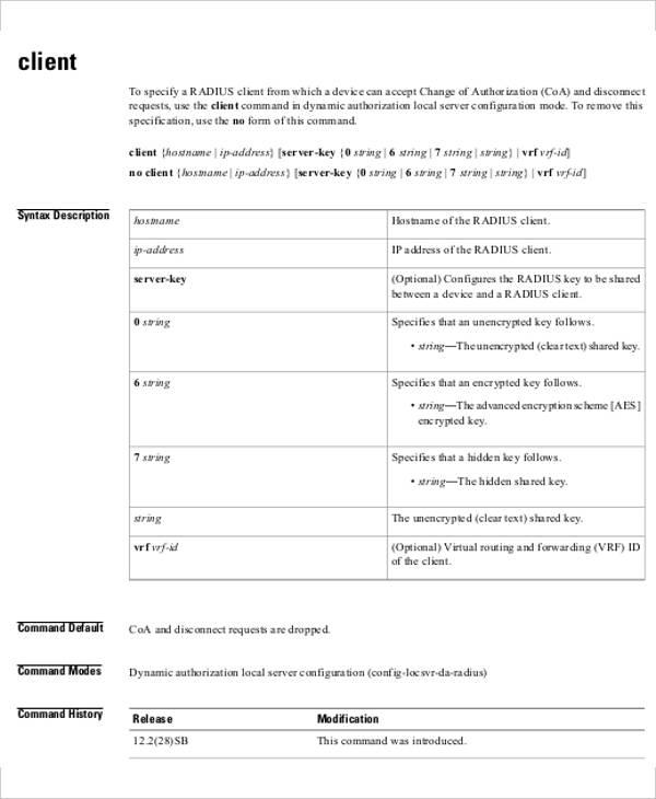 client revocation list template