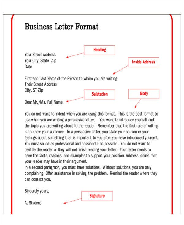 plain business letterhead template word