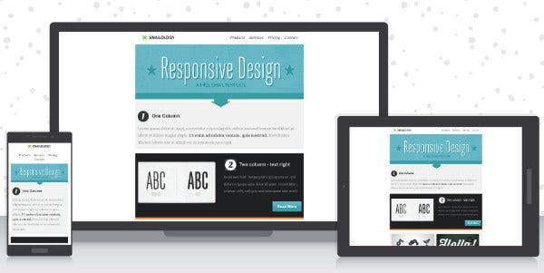 Free Responsive Email Template