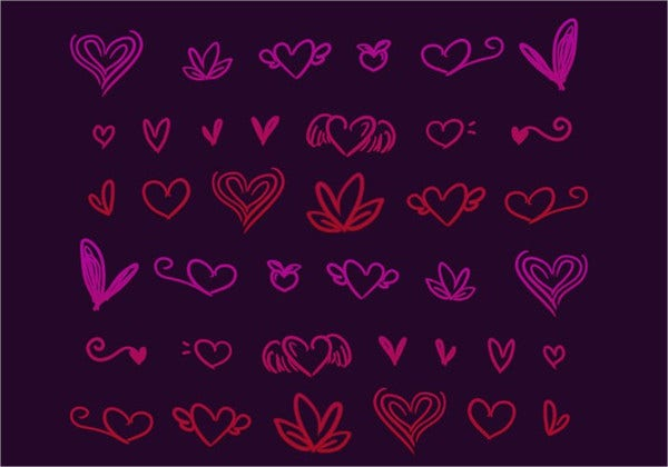 heart-doodle-brushes
