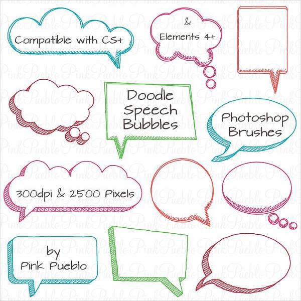 doodle frames ps brushes