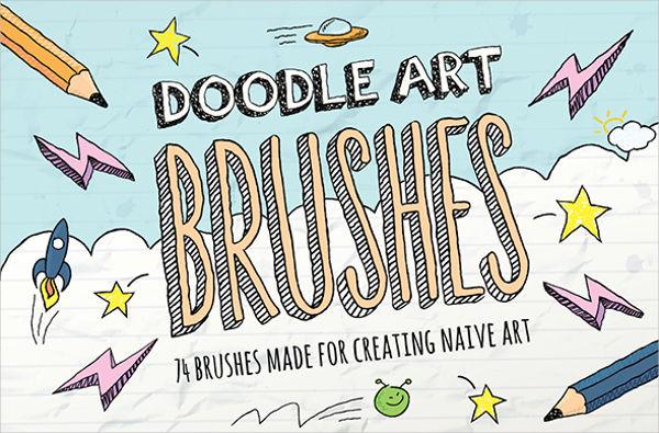 doodle art brushes