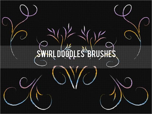 doodle swirl brushes