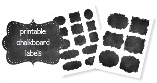 free printable label template1
