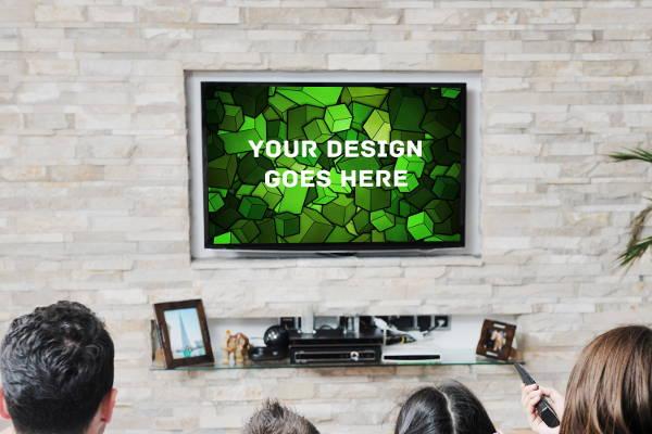 Tv Display Mockup
