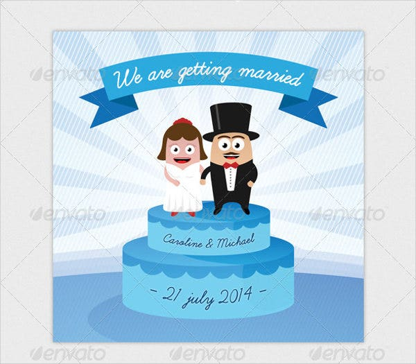 Funny Wedding Invitation Template