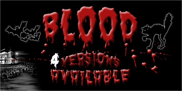 Blood Ghost Font