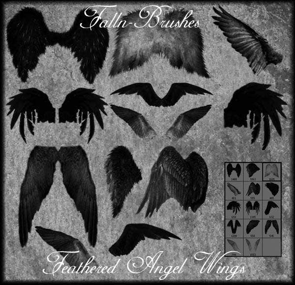 feather-angel-wings-brushes