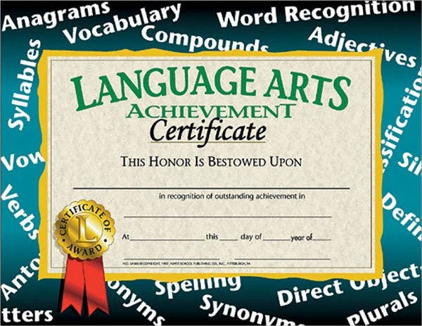 art award certificates 7 free psd pdf format download