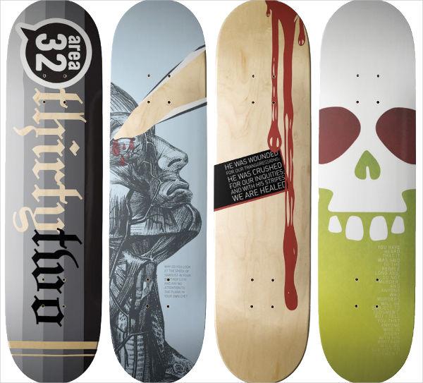 skateboard design for indoor