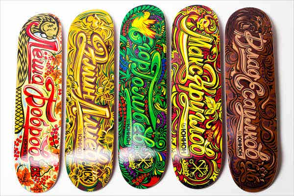 Product Design Skateboard