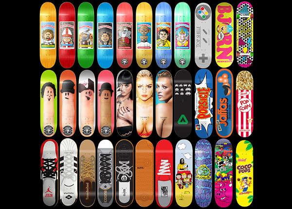 graphic design skateboards