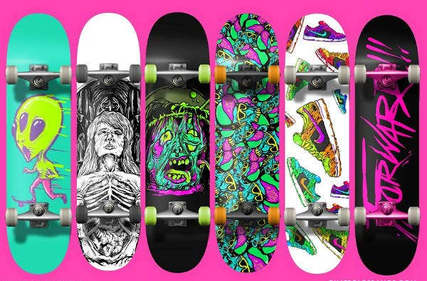 Free Download Skateboard Design