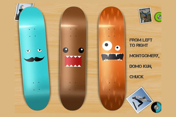 Cool Skateboard Design