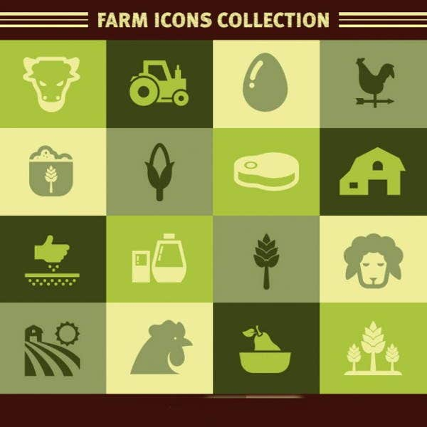 vector-farm-icons