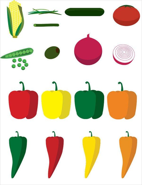 free vegetable icons