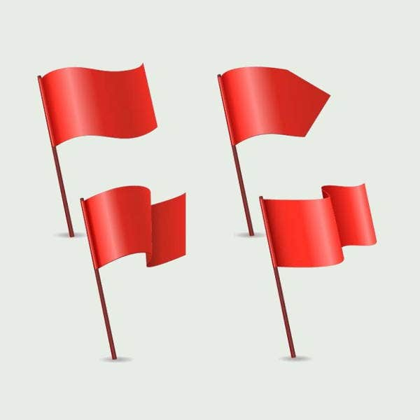 red-flag-vector