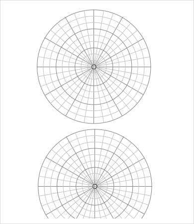 Free Printable Polar Coordinate Graph Paper