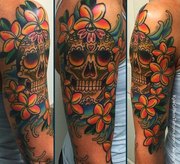 Sleeve Skull Tattoo