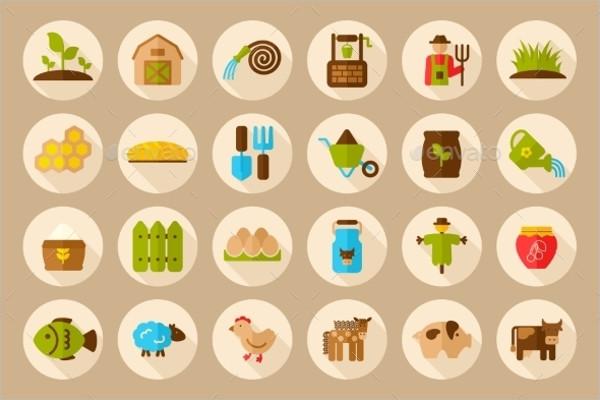 Farm Garden Icons