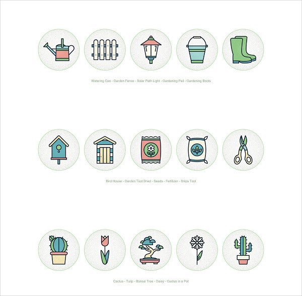 Free Gardening Icons