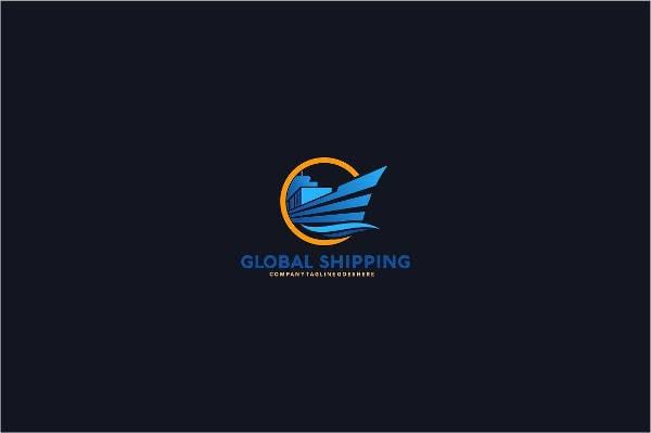 shipping global logos