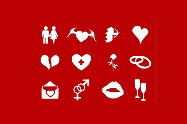 free download valentines day icons