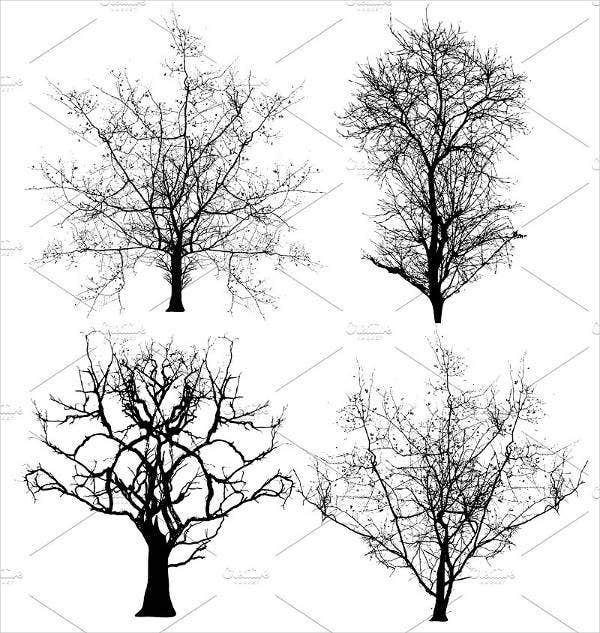 dead tree brushes photoshop