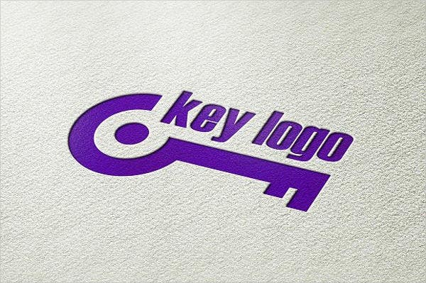 key logo vector