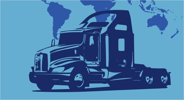 semi truck logos