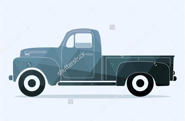 antique truck logos