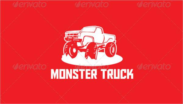 monster truck logos