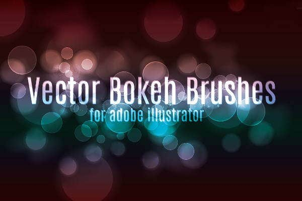 Vector Bokeh Photosop Brush