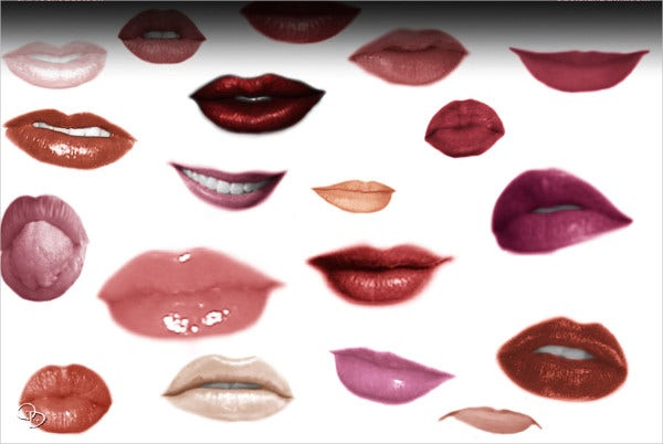 Lips and Gimp Brushes