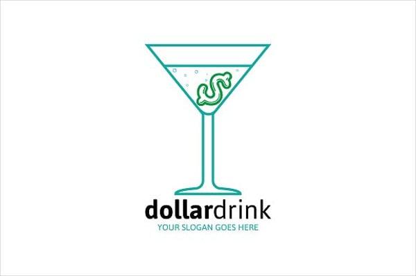 Dollar Drink Logos