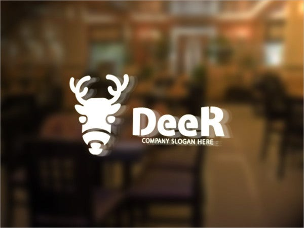 cool deer logo