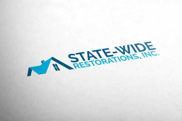 Roofing Logo Design by Web Services