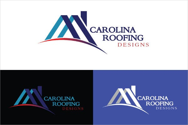 Roofing Design Logo
