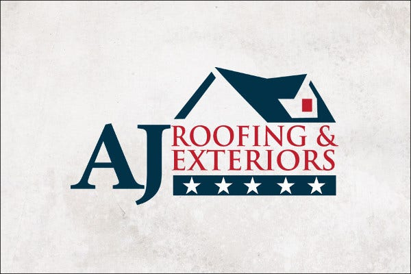 Roofing and Exteriors Logo
