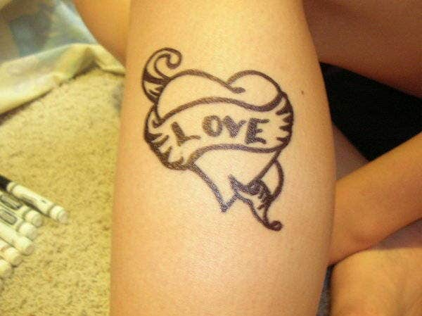 love-heart-tattoo