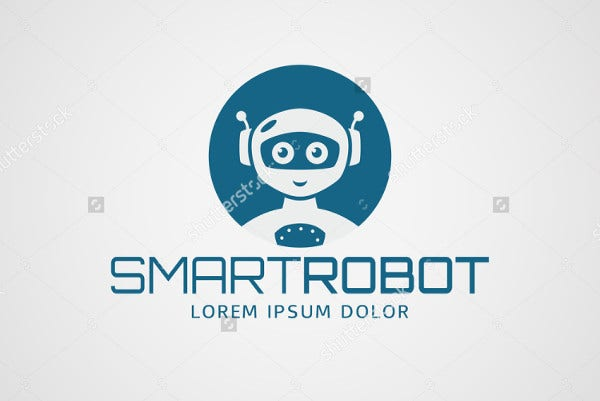Smart Robot Logo Template