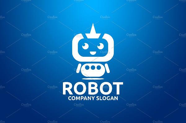 Proffesional Robot Logo