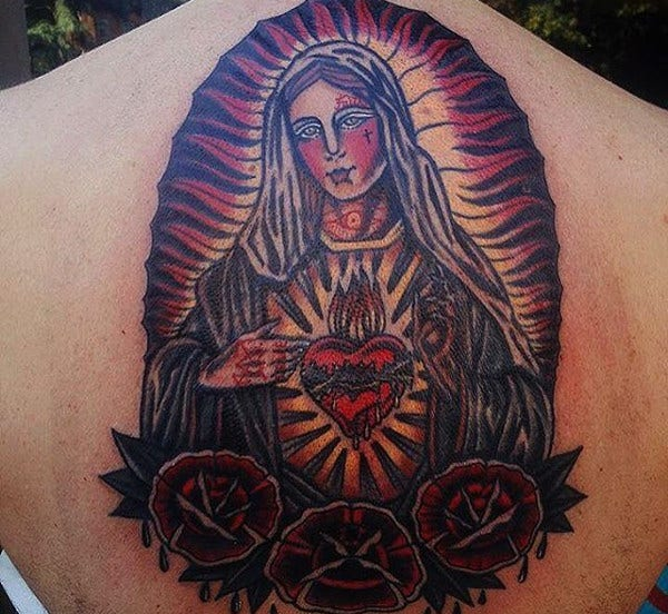 Traditional Tattoo of Goddes