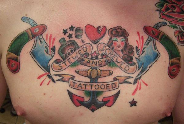 Conceptual Traditional Tattoo