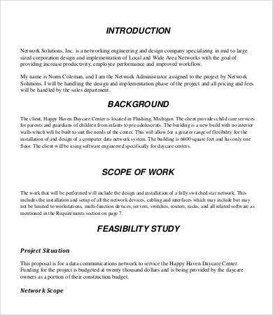 Design Proposal - 8+ Free Word, Pdf Documents Download | Free